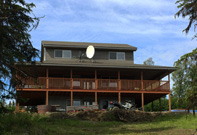 Kenai Bed and Breakfast Property Front Side