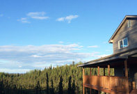 Kenai Bed and Breakfast Property North Side
