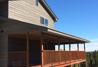 Kenai Bed and Breakfast Property South Side