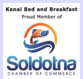 kenai Bed and Breakfast is a member of Soldotna Chamber of Commerce